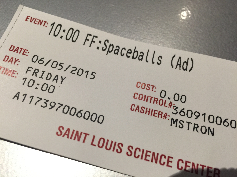 Spaceballs: The Ticket